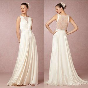 BHLDN Catherine Deane Angel Wedding Gown Size 12